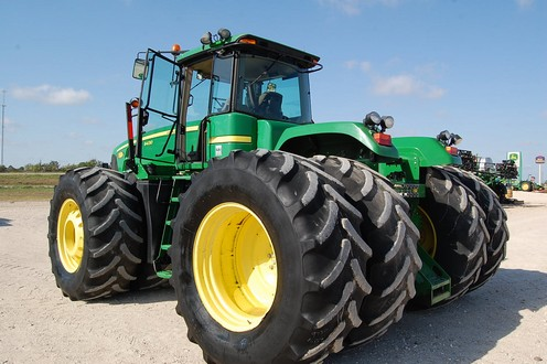 Recent John Deere Tractor financed in April 2012